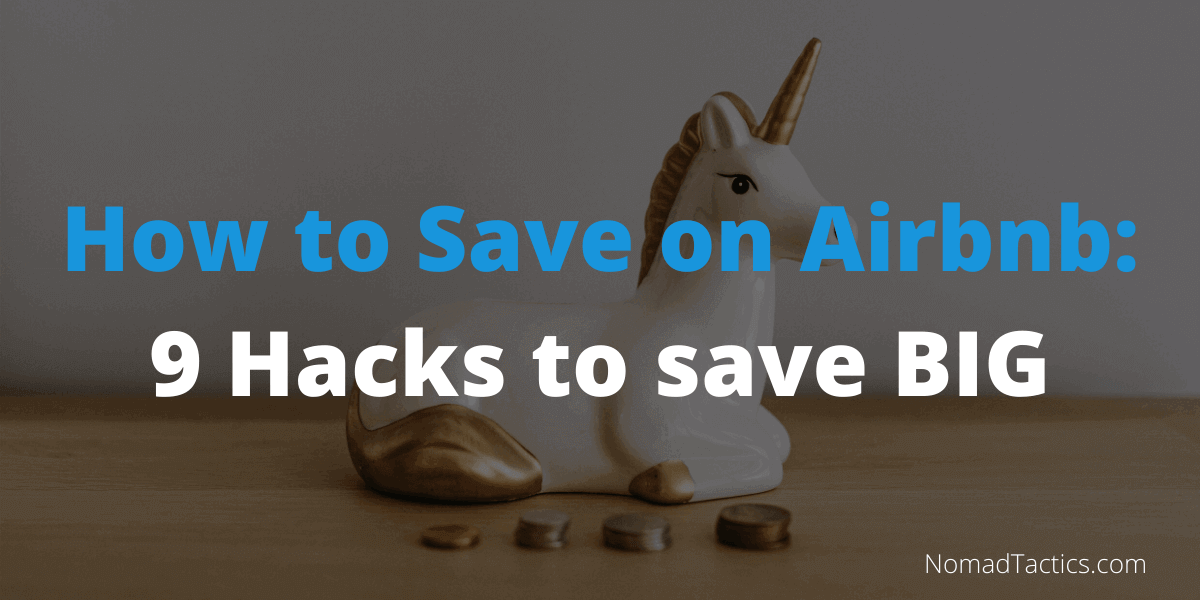 How to save on Airbnb