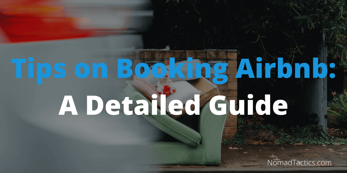 Tips on Booking Airbnb